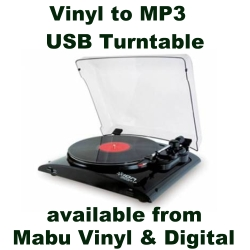 Click on image to buy Vinyl to MP3 USB Turntable from Mabu Vinyl & Digital