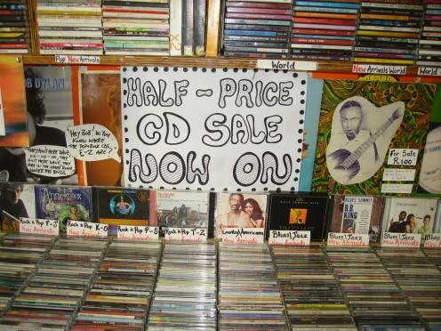 Half Price CD Sale