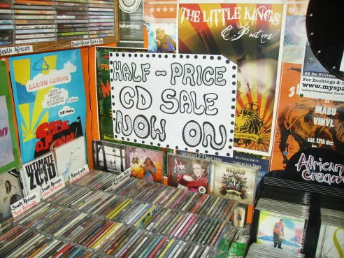 Half Price CD Sale