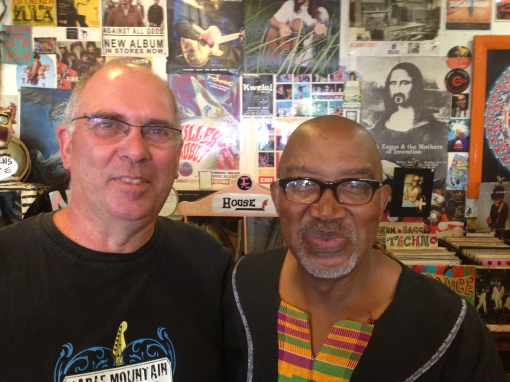 "Brian Currin and Sipho ""Hotstix"" Mabuse"
