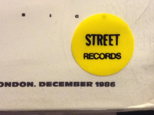 the famous yellow street records label