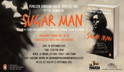 Penguin Random House Invites You To The Official Launch of Sugar Man Book