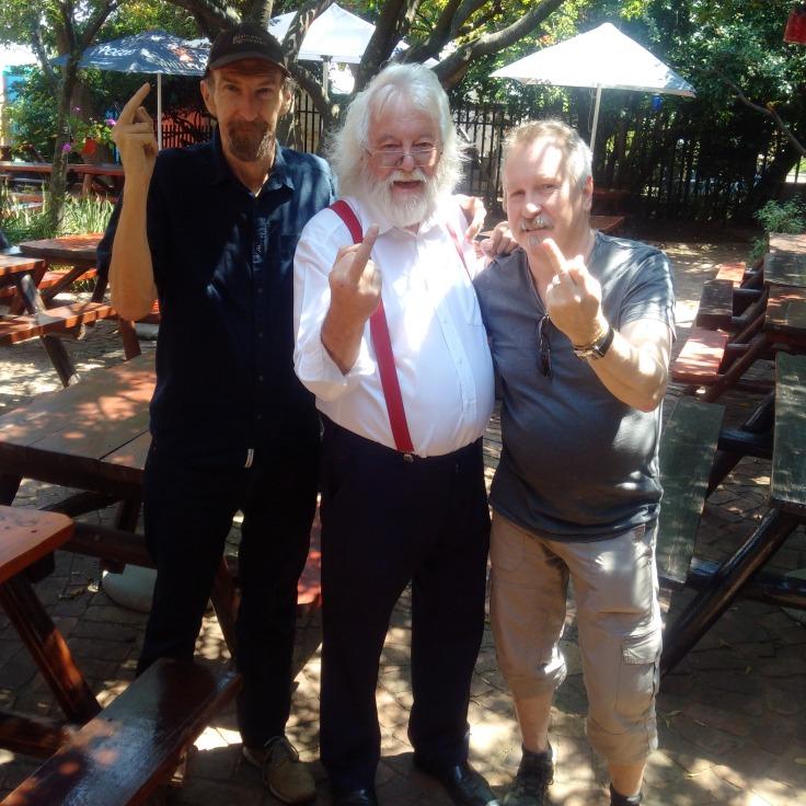 Tom Jasiukowicz, Steve Gilroy, Garth Chilvers
